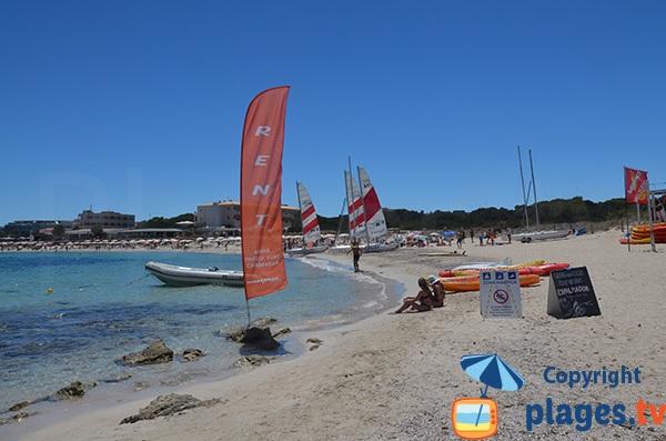 Centre nautique à Es Pujols - Formentera