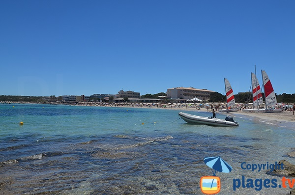 Baie d'Es Pujols - Formentera