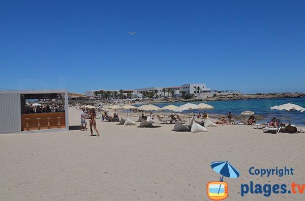 Plage d'Es Pujols côté nord - Formentera