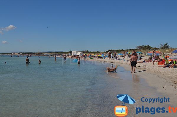 Plus belle plage de l'ile de Majorque