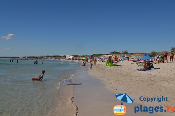 Plage au sud de Majorque