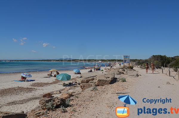 Photo de la plage Es Trenc à Majorque - Colonia de Sant Jordi