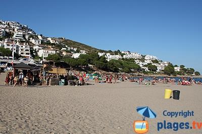 Beach of l'Escala - Spain