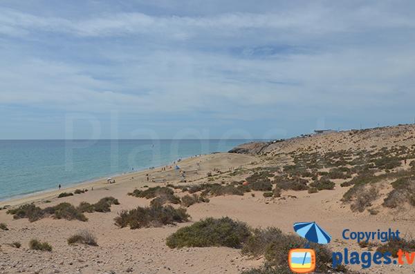Plage Esmeralda à Costa Calma - Fuerteventura - Canaries