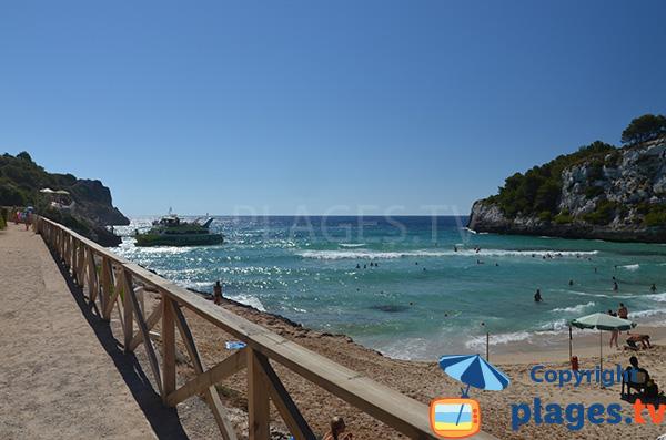 Navette en bateau entre les criques de l'Est de Majorque