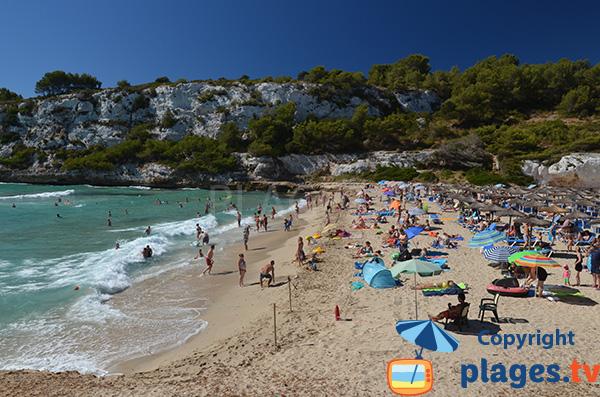 Crique de sable à Porto Cristo - S'Estany d'en Mas