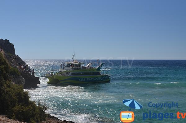 Navette maritime à Porto Cristo - S'Estany d'en Mas