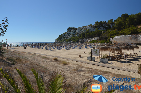 Photo de la plage de S'Estany d'en Mas à Porto Cristo à Majorque