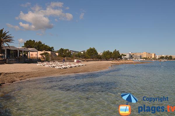 Plage entre Sant Josep de sa Talaia et Sant Antonio - Ibiza