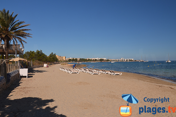 Photo de la plage Estanyol à Sant Josep de sa Talaia - Ibiza