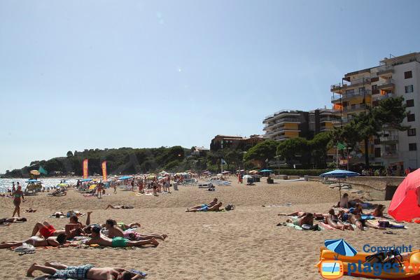 Fenals et sa plage - Lloret de Mar