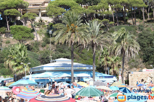 Restaurant on the Fenals beach - Lloret de Mar