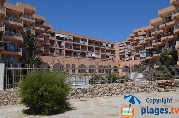 Immeubles à Figueretes à Ibiza