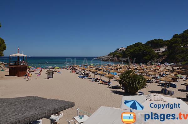 Photo de la plage de Font de sa Cala - majorque
