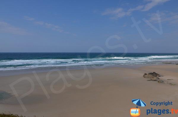 Plage en Galice à proximité de la plage des Cathédrales