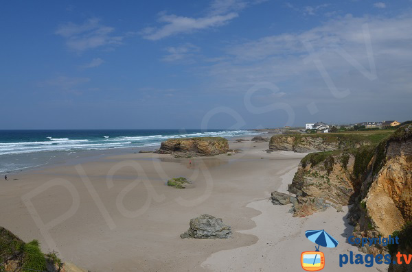 Photo de la plage de Fontela à Barreiros - Espagne