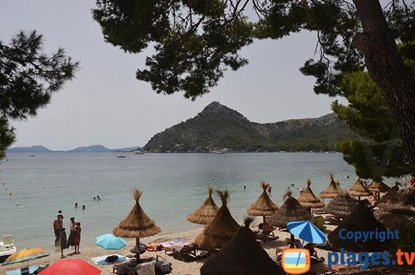 Belle plage de Formentor - Iles Baléares