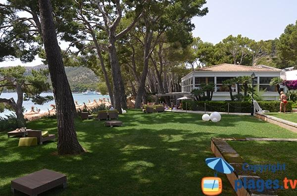 Restaurant de la plage de Formentor - Majorque