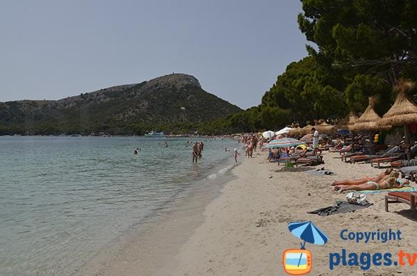 Photo de la plage de Formentor à Majorque - Pollença