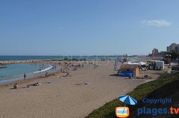 Photo de la plage de Forti à Vinaros en Espagne