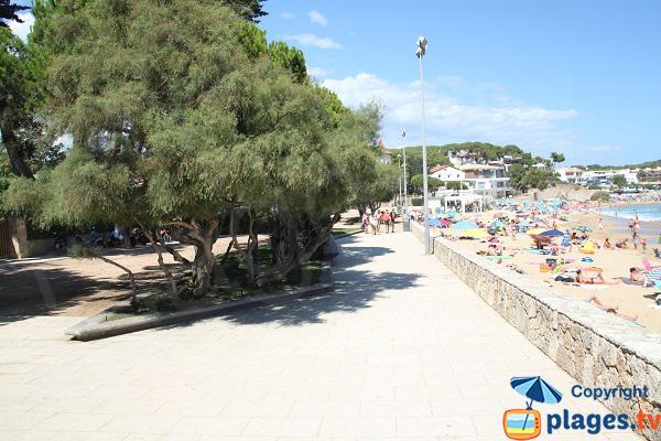 promenade piétonne à Palamos