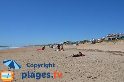 Plage et front de mer d'El Palmar en Espagne - Andalousie