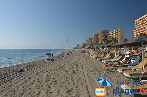 Photo de la plage de Fuengirola - Sud de Malaga