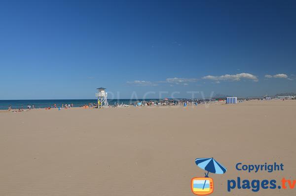 Photo de la plage de Gandia - Sud de Valence