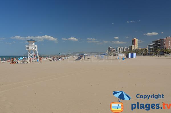 Belle plage au sud de Valence - Gandia