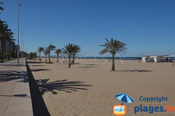 Front de mer de Gandia - Espagne