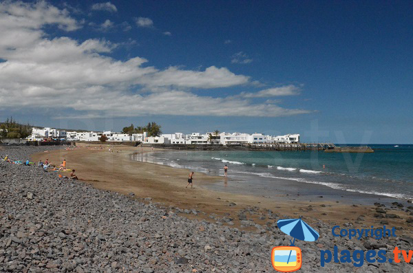 Plage de La Garita à Arrieta - Lanzarote