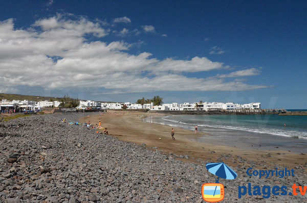 Photo de la plage de La Garita à Arrieta