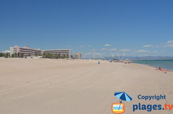 Hôtel sur la plage de Garrofera à El Saler - Espagne
