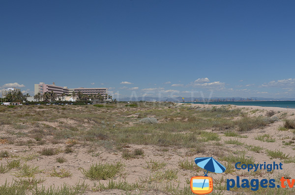Photo de la plage de Garrofera à El Saler - Espagne