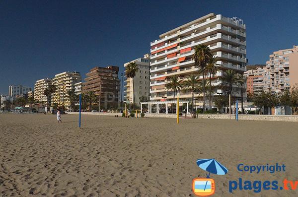 Immeubles face à la plage de Las Gaviotas - Fuengirola