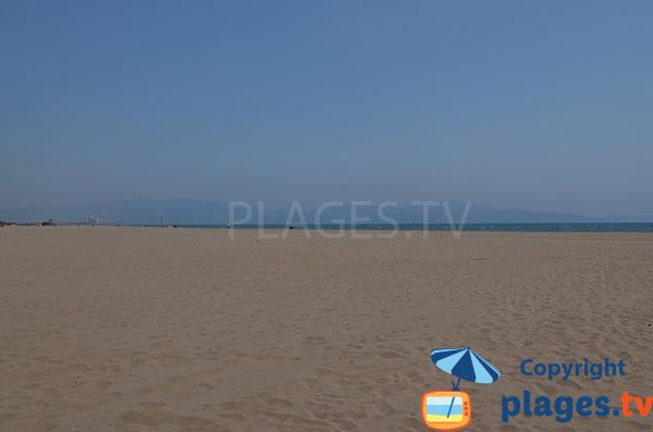 Photo de la plage de la Gola à Sant Pere Pescador