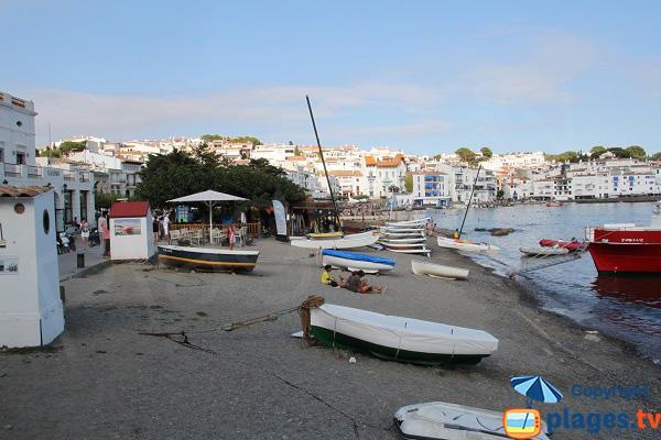 Portal beach in Cadaques - Spain