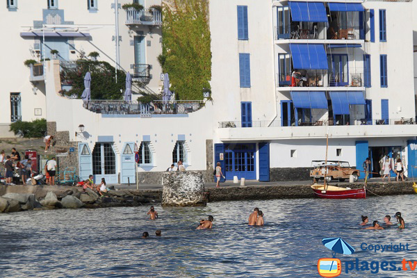 Houses at the seaside of Cadaques