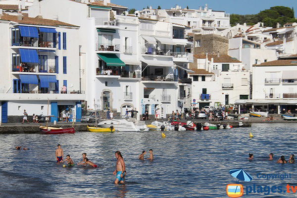 Traditional boats in Cadaques