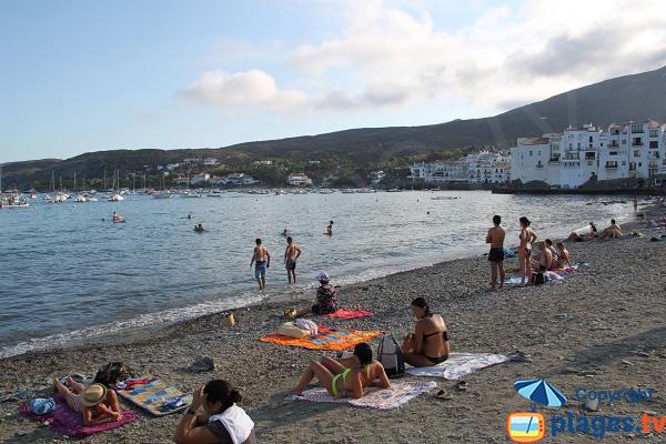 Photo de la plage de Gran à Cadaques