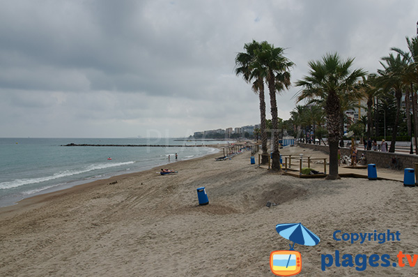Plage au sud de Benicassim - Espagne