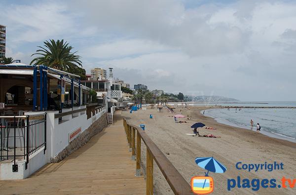 Photo de la plage Heliopolis Nord à Benicassim - Espagne