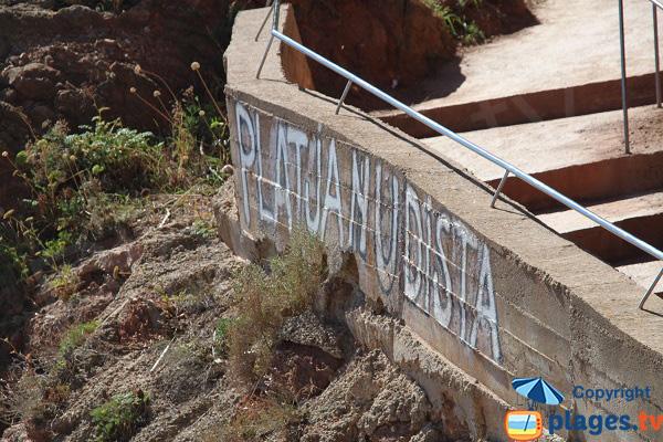 Plage naturiste à Begur - Illa Roja - Espagne