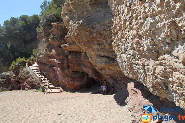 Shade cove in Begur - Costa-Brava