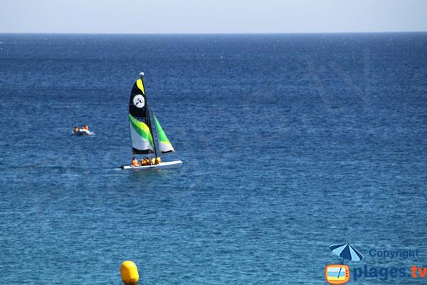 Activité nautique à Begur