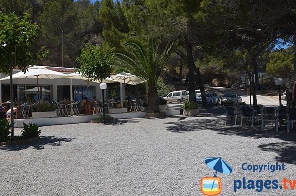 Restaurant de s'Illot d'Es Rencli à Ibiza