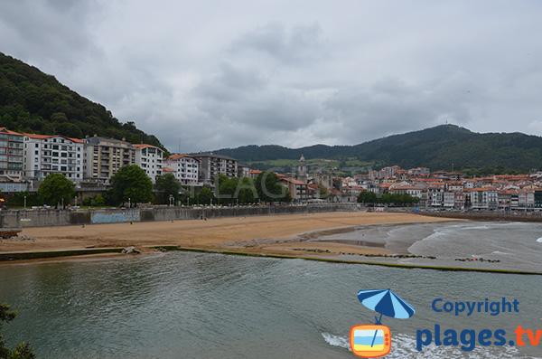 Photo de la plage Isuntza à Lekeitio - Pays Basque Espagnol
