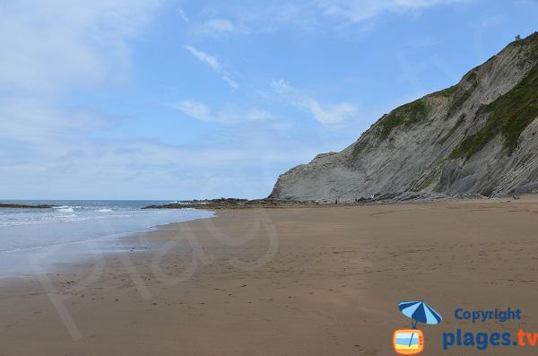 Plus belle plage de la Côte Basque espagnol