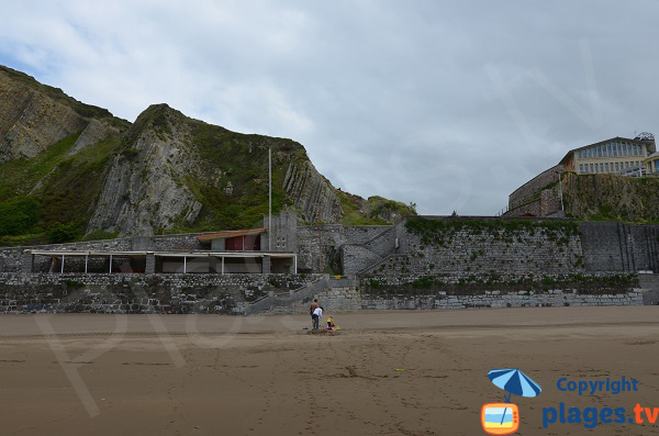 Restaurant et centre de thalasso de la plage Itzurun à Zumaia - Espagne