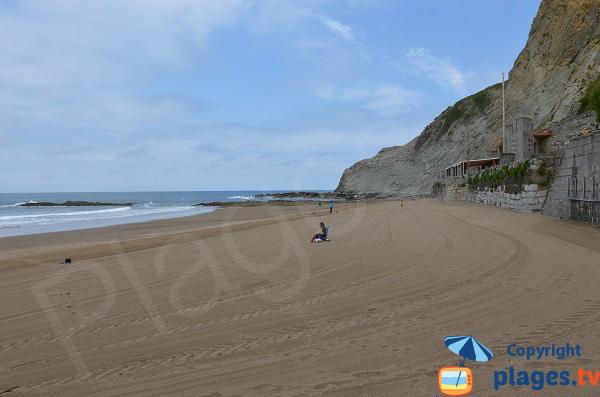 Photo de la plage d'Itzurun à Zumaia - Espagne